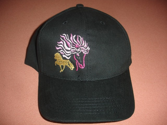 Hat 2 - Embroidery Black